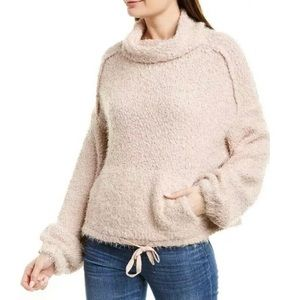 YFB Popcorn Knit Fuzzy Sweater Pullover Tunic NWT